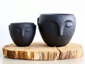 Cachepot linha Faces Cônico | Pote Médio
