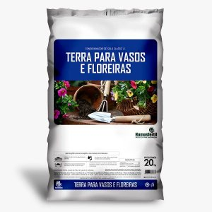 Terra para vasos e floreiras (5kg)