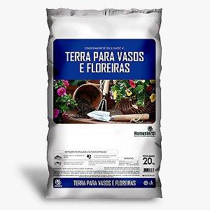 Terra para vasos e floreiras (20kg)