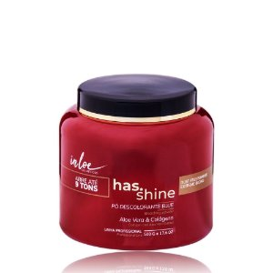 Pó Descolorante Blue has.shine Inloe 500g