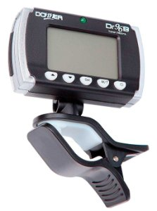 Afinador / Metrônomo eletrônico digital com Clip de contato e Display LCD DONNER