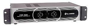 Amplificador de potência LL AUDIO PRO-1600