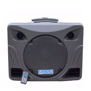 Caixa de Som ATIVA CSR USB/BLUETOOTH MT12A COM BATERIA INTERNA