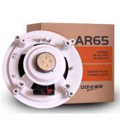 Arandela de embutir DONNER AR65 40 WATTS 6,5 Pol.