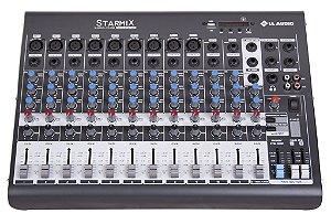 Mesa de Som 12 Canais STARMIX XMS 1202D BALANCEADA/USB/BLUETOOTH