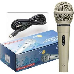 Microfone Profissional Dinâmico MXT M-515 C/ CABO 5 MTS