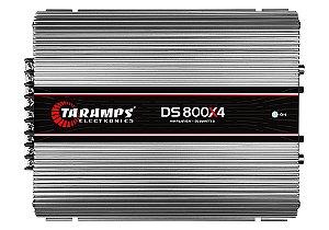 Módulo Amplificador TARAMPS DS 800x4 Classe D 800 watts 4 Canais 200W RMS 1 OHM