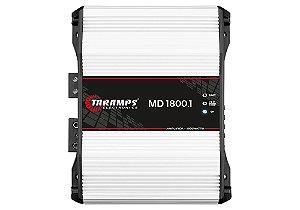 Módulo Amplificador TARAMPS MD1800 Classe D 1 canal 1800W RMS