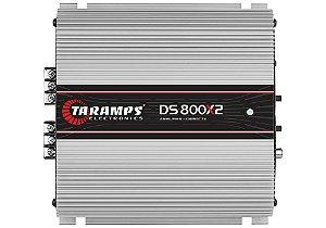 Módulo Amplificador TARAMPS DS 800x2 Classe D 800 Watts 2 Canais 400W RMS