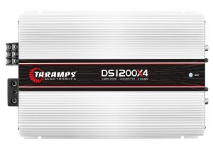Módulo Amplificador TARAMPS DS 1200x4 Classe D 1200 watts 4 Canais 300W RMS