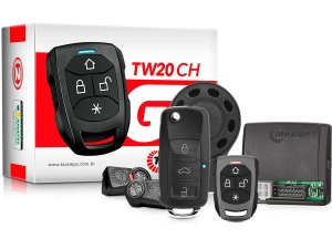 Alarme Automotivo TARAMPS TW20 G3 + Chave Canivete