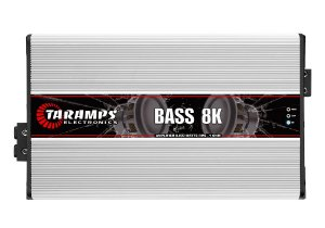 Módulo Amplificador TARAMPS BASS 8K Classe D 1 canal 8000W RMS 1 OHM