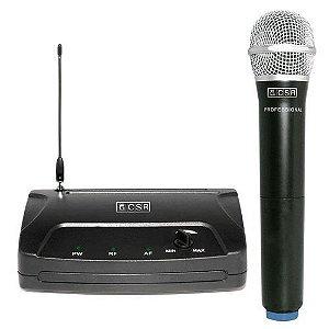 Microfone SEM FIO CSR-104H VHF