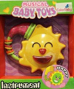 Brinquedos Para Bebês Com Botões Musicais - Sol