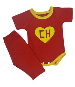 Conjunto Body com Calça Personagens - Chapolin