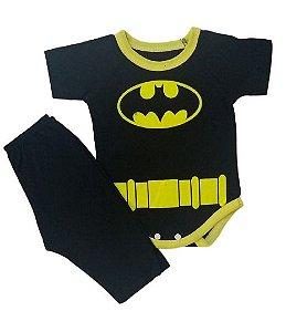 Conjunto Body com Calça Personagens - Batman