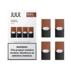 Juul - Classic Tabaco Pod (4 Pods)