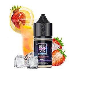 BLVK Pink Salt - Iced Berry Lemonade (Morango e Limonada)
