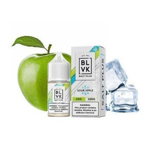 Blvk Salt Plus - Sour Apple ice
