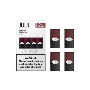 Juul - Virginia Tabaco 3% Pod (4 Pods)