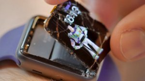 Troca vidro Apple Watch 4 - conserto Apple Watch em Brasilia