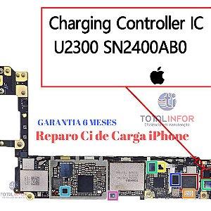 Reparo controlador de carga iphone 7 7 plus 6s 6s plus 8 8 plus x 5s 5 plus