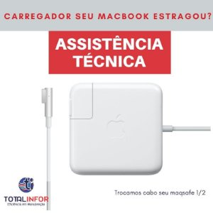 Carregador MacBook Pro, MacBook Air, Retina 6 Meses Garantia