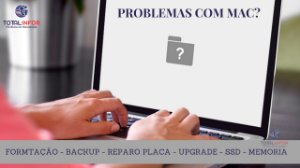 Conserto Macbook Air, Assistência Técnica Macbook Air e Reparo Macbook Air