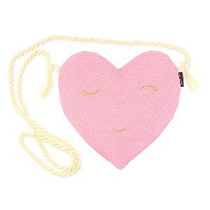 S2019-01 - Bolsinha Love Rosa Neon