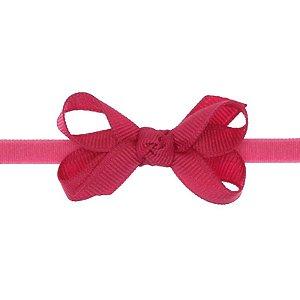 AFX001-05 - Faixa Laço Classic P Gorgurão - Pink