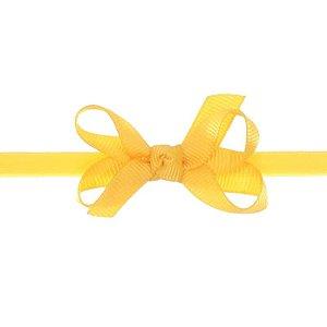 AFX001-12 - Faixa Laço Classic P Gorgurão - Amarelo