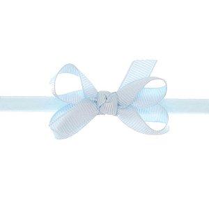 AFX001-16 - Faixa Laço Classic P Gorgurão - Azul Celeste