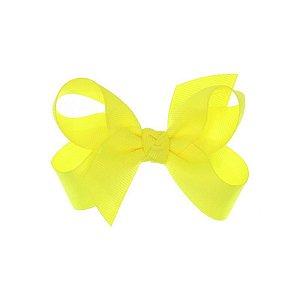 APR001-34 - Presilha Laço Classic M Gorgurão - Amarelo Neon