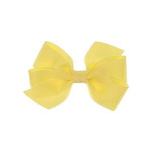 APR005-13 - Presilha Laço Boutique M Gorgurão - Amarelo Claro