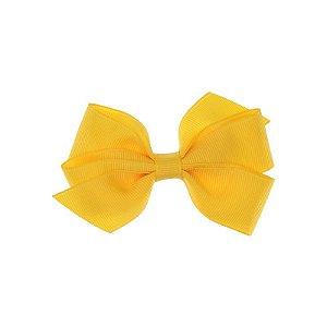 APR005-14 - Presilha Laço Boutique M Gorgurão - Amarelo