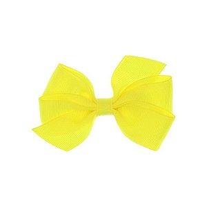 APR005-34 - Presilha Laço Boutique M Gorgurão - Amarelo Neon