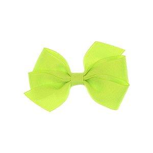 APR005-37 - Presilha Laço Boutique M Gorgurão - Verde Neon