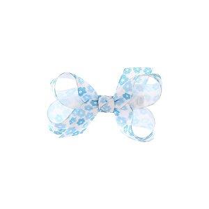 APR013-04 - Presilha Laço Classic P1 Variadas Set 2  - Floral Azul