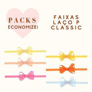 Packs de Modelos com Faixa de Laço P Classic (Original)