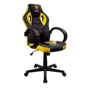 Cadeira Gamer Hunter Amarela EG-901 Evolut