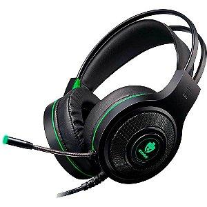 Headset Gamer com Fio Têmis EG-301 Verde Evolut