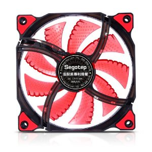 Cooler Fan Gamer Polar Wind Vermelho Segotep