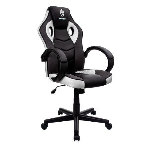 Cadeira Gamer Hunter Branco EG-901 Evolut