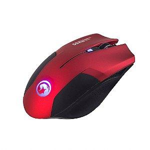 Mouse Gamer M205 Marvo Scorpion Vermelho Com Fio