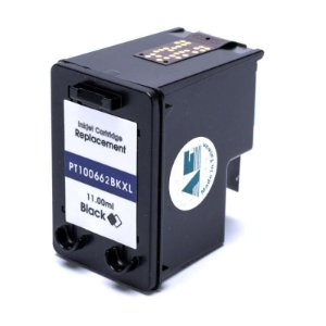 Compatível: Cartucho de Tinta HP 662XL Black 11ml Microjet