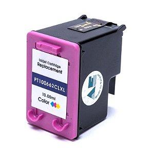Compatível: Cartucho de Tintas HP 662XL Color 10ml Microjet