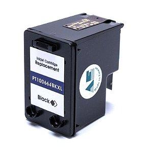 Compatível: Cartucho de Tinta HP 664XL Black 14ml Microjet
