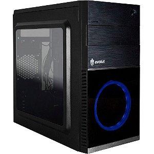 Gabinete Gamer Shin EG-804 (cooler azul) Evolut