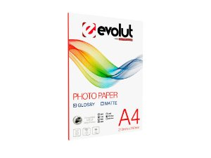 Papel Foto High Glossy A4 115g 20fls