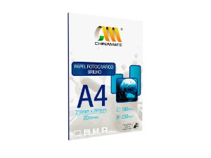 Papel Foto High Glossy A4 230g 20fls